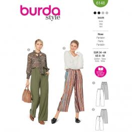 Pantalon, Burda 6148