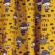 Tissu Jersey Pirates - Jaune moutarde