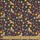 Tissu Jersey Licornes Arc en ciel - Gris chiné & Multicolore