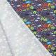 Tissu Jersey Animaux de la Ferme - Bleu marine