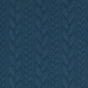 Tissu Jersey Torsades - Bleu pétrole