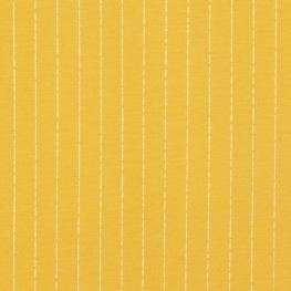 Tissu Viscose Rayures - Ocre & Argenté