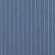 Tissu Viscose Rayures - Bleu jean & Argenté