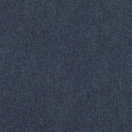 Tissu Jersey Bio Jean - Bleu brut