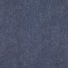 Tissu Jersey Bio Jean - Bleu