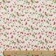 Tissu Coton Cretonne Fruits Rouges - Lin