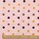 Tissu Coton Broderie Relief Pois - Rose