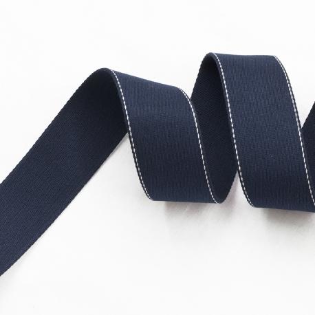 Ruban sangle de sac, au mètre - Bleu marine
