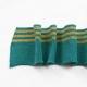 Tissu bord côte doré Poppy - Turquoise & Doré