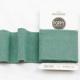 Tissu bord côte uni Poppy - Menthe poivrée