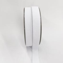Ruban élastique au mètre - 20mm Blanc