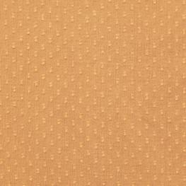 Tissu Coton Plumetis double Uni - Caramel
