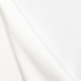 Tissu nid d'abeille double face - Blanc