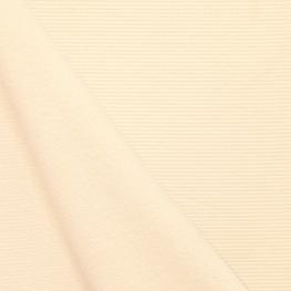 Tissu nid d'abeille double face - Crème