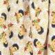 Tissu Popeline Bio Frida Kahlo - Blanc