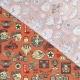 Tissu Coton Cretonne Motard - Orange