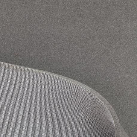 Tissu Mousse sur Résille 10 mm - Gris