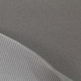 Tissu Mousse sur Résille Epaisseur 5 mm - Gris