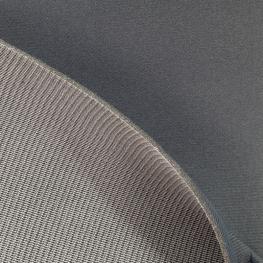 Tissu Foam back sur Mousse Épaisseur 3 mm - Gris anthracite