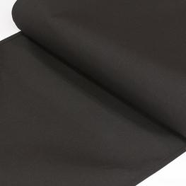 Toile Transat outdoor Uni Largeur 43cm - Noir