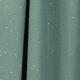 Tissu coton Double Gaze Scintillant - Menthe Poivrée & Doré