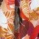 Tissu Rayonne Feuilles exotiques - Multicolore