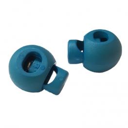 Stop cordon standard à ressort - Bleu turquoise