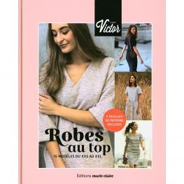 Livre couture, Robes au top du XXS au XXL