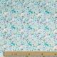 Tissu Coton Cretonne licorne féerique  - Bleu