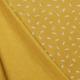 Tissu Jersey Plume - Jaune curcuma