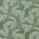 Tissu Jersey feuille - Vert