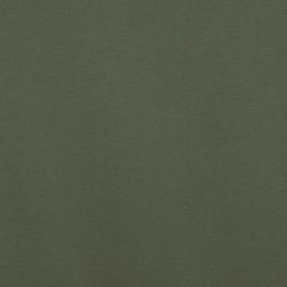 Tissu Jersey Sweat Uni Molletonné - Kaki