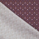 Tissu Popeline Coton Roue de Paon - Bordeaux