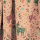 Tissu Jersey Licornes Multicolores - Rose