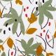 Tissu Coton Enduit Ydori - Kaki & Moutarde