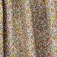 Tissu Popeline Fleurs Avrilette - Jaune