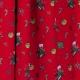 Tissu Popeline Chaussettes et cadeaux de Noël - Rouge