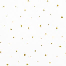 Tissu Popeline Ciel d'Etoile - Blanc
