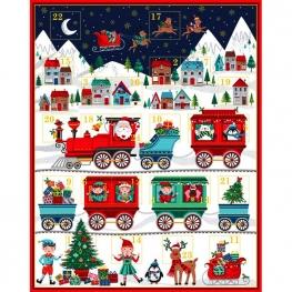 Kit DIY calendrier de l'avent à coudre - Noël & Elf