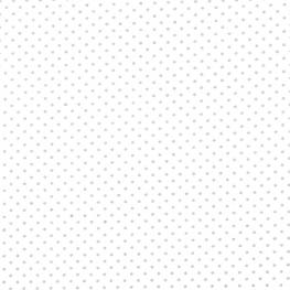 Tissu Popeline Coton Point Doré - Blanc