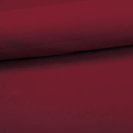 Tissu coton uni - Rouge lie de vin