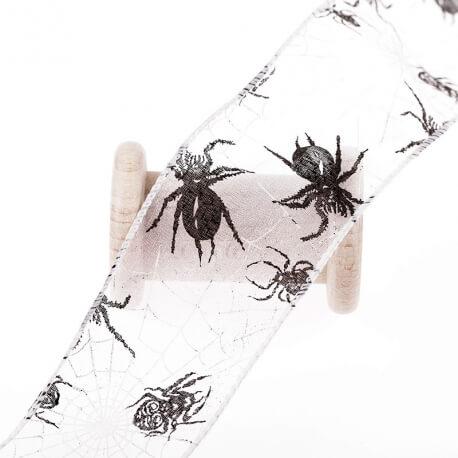 Voile laitonné araignée