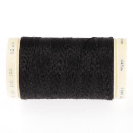 Fil coton 445m - Noir