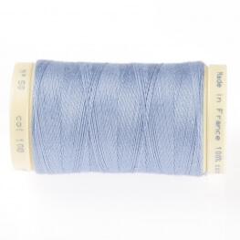Fil coton 445m - Bleu allure