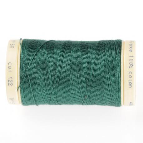 Fil coton 445m Vert evergreen