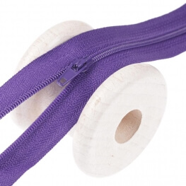 Fermeture à glissière fine - Violet