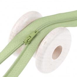 Fermeture à glissière fine - Vert