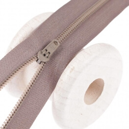 Fermeture à glissière pantalon - Beige