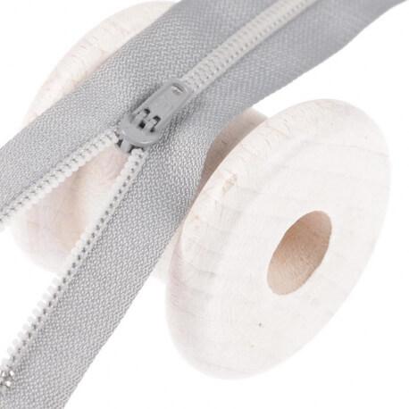 Fermeture à glissière pantalon - Gris