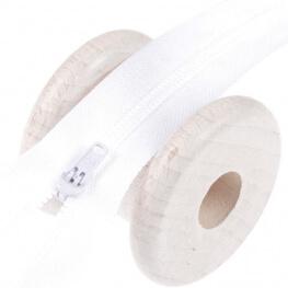 Fermeture à glissière pantalon - Blanc